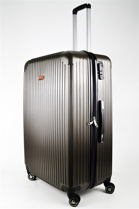 Чемодан большой ABS NL коричневый - фото 24218