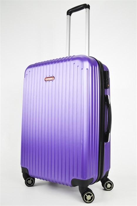 Чемодан средний ABS NL фиолетовый - фото 24832