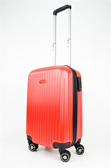 Чемодан маленький ABS NL красный - фото 25033