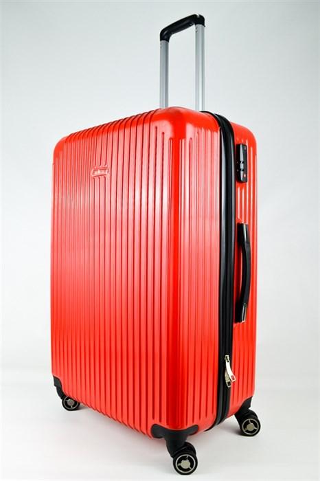Чемодан большой ABS NL красный - фото 25046