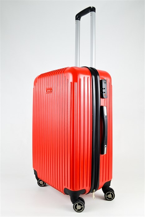 Чемодан средний ABS NL красный - фото 25060