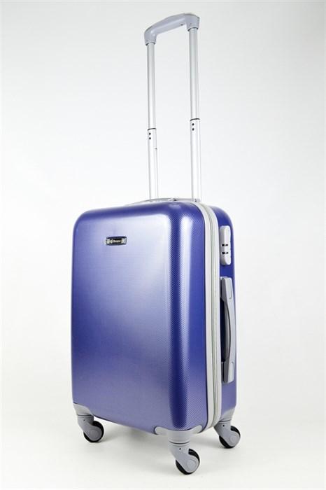 Чемодан маленький ABS Bonjour синий - фото 26502