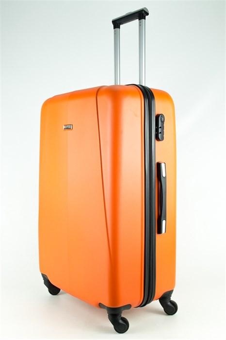 Чемодан большой PC+ABS MAGGIE N2 оранжевый - фото 27447