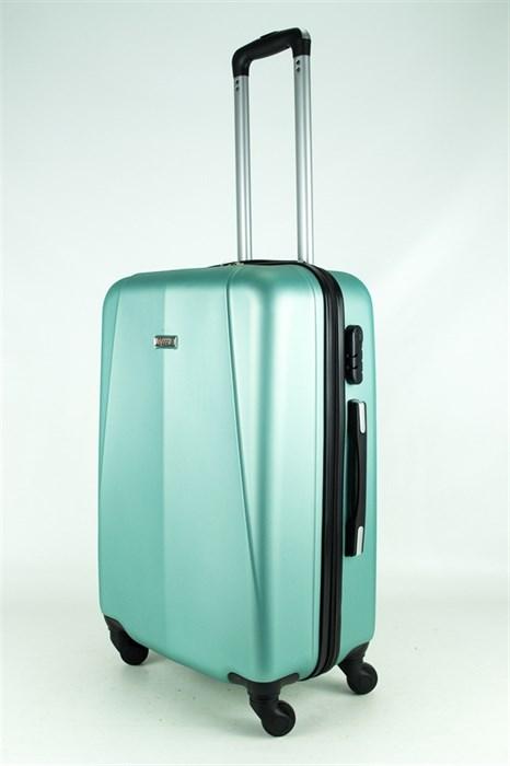Чемодан средний PC+ABS MAGGIE N2 серо-голубой - фото 27629