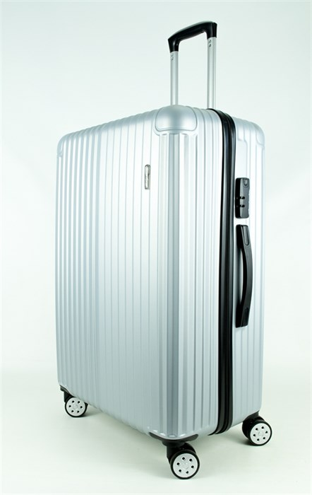 Чемодан большой ABS Smart Travel серебро - фото 27738