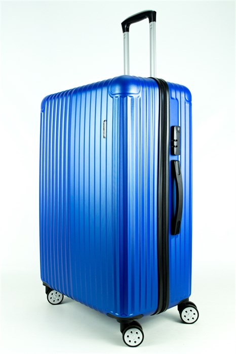 Чемодан большой ABS Smart Travel синий - фото 27762