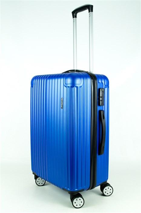 Чемодан средний ABS Smart Travel синий - фото 27799