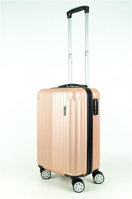 Чемодан маленький ABS Smart Travel ч/роза - фото 27912