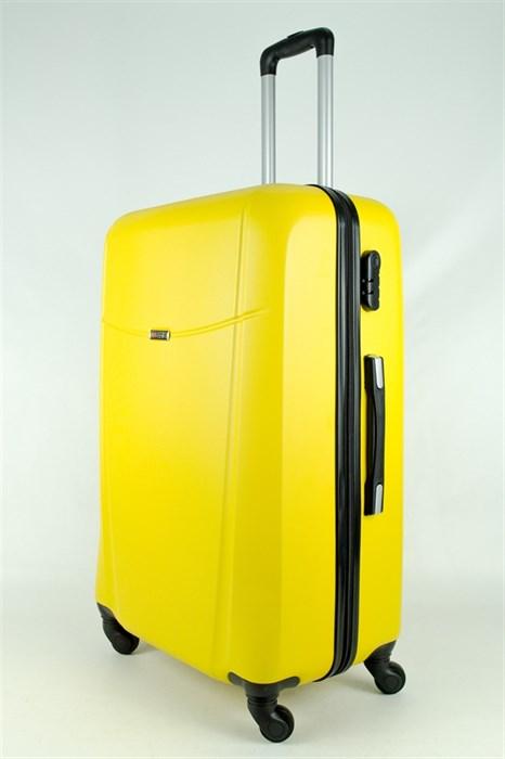 Чемодан большой PC+ABS MAGGIE желтый - фото 27948