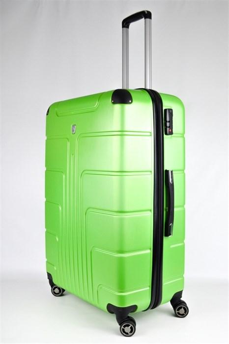 Чемодан большой PC зеленый - фото 28435