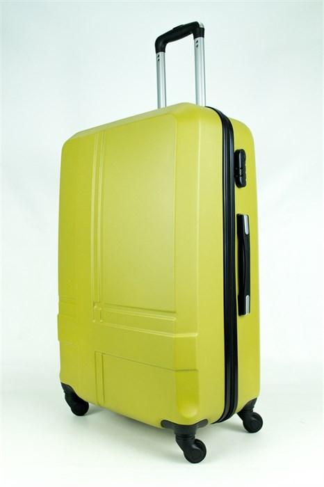 Чемодан большой PC+ABS MAGGIE N4 оливковый - фото 28472