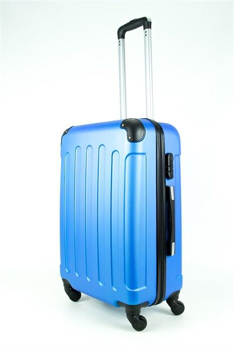 Чемодан средний PC+ABS Maggie Xi голубой - фото 28520
