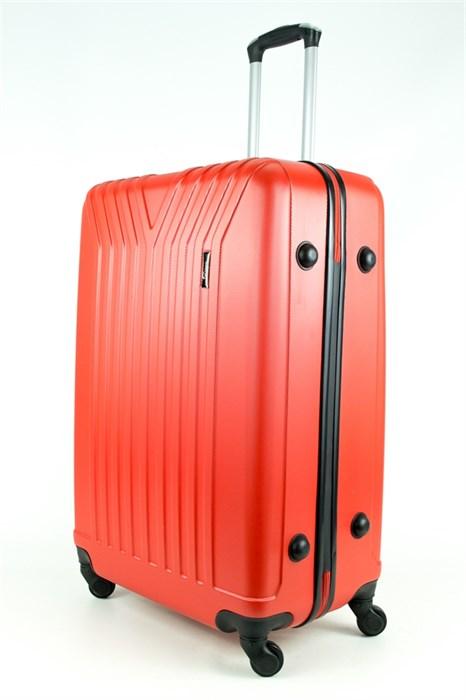 Чемодан большой ABS TT (У-образный) красный - фото 28592