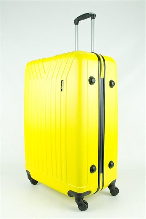 Чемодан большой ABS TT (У-образный) желтый - фото 28640