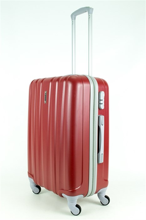 Чемодан средний ABS Нонгуй красный - фото 28676