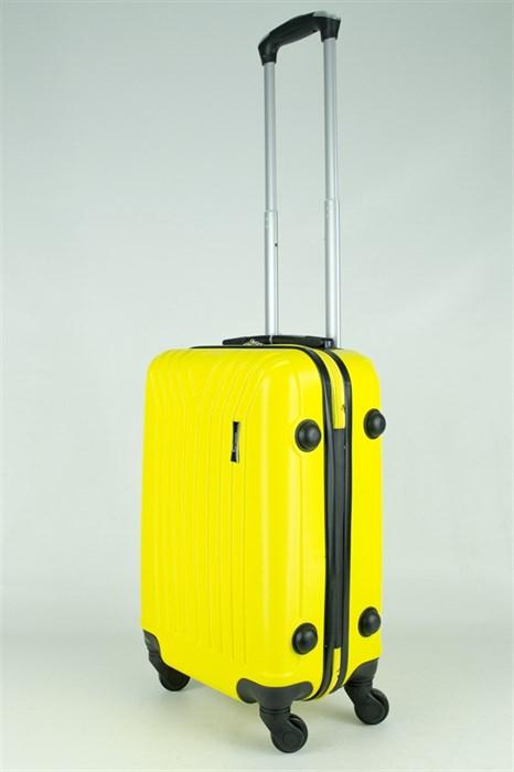 Чемодан маленький ABS TT (У-образный) желтый - фото 28894