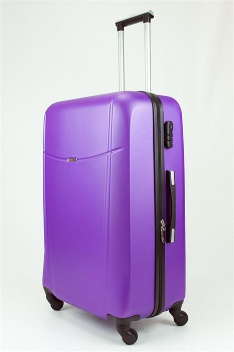 Чемодан большой ABS TT (буква Н)  фиолетовый (Ч) - фото 28933