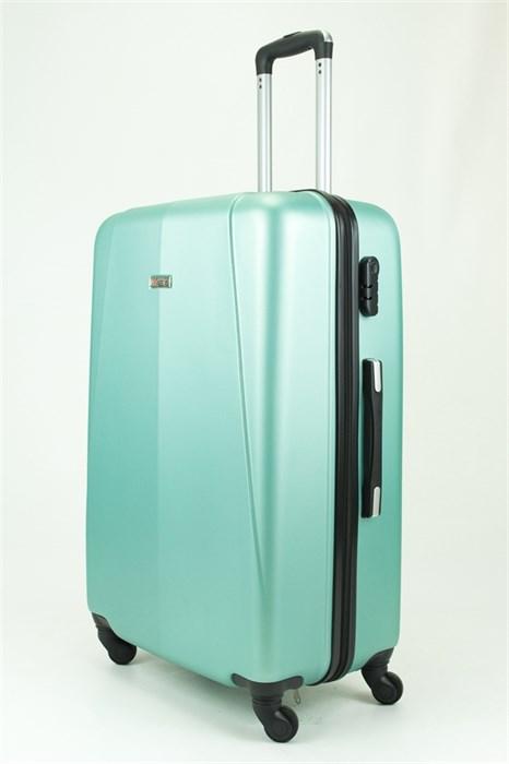 Чемодан большой PC+ABS MAGGIE N2 серо-голубой - фото 28957
