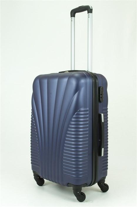 Чемодан средний PC+ABS Maggie N5 темно-синий - фото 29023
