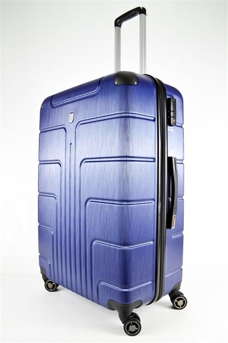 Чемодан большой PC темно-синий (уценен) - фото 29154