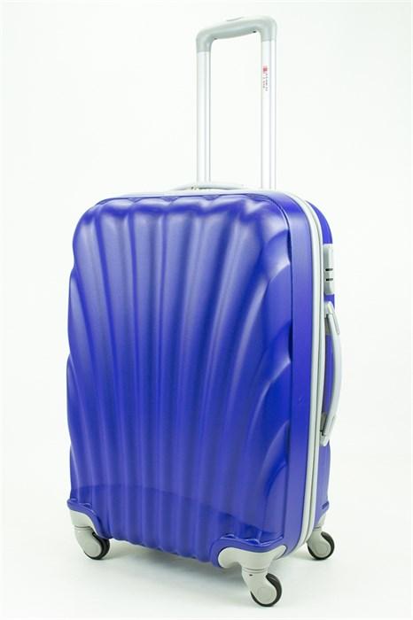 Чемодан средний ABS GC ракушка синий - фото 29664