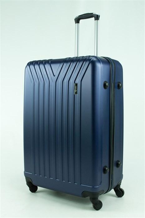 Чемодан большой ABS TT (У-образный) темно-синий - фото 30682