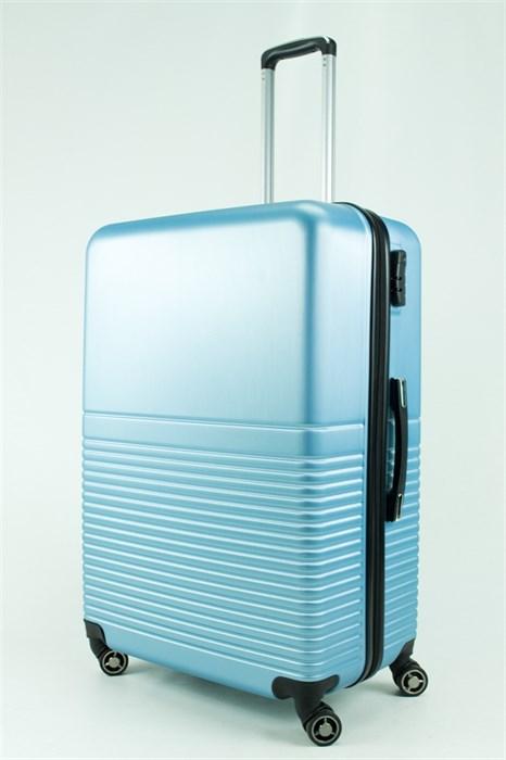 Чемодан большой PC NL2 голубой металлик - фото 30749