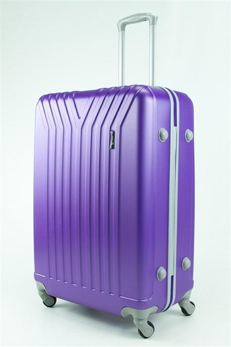 Чемодан большой ABS TT (У-образный) фиолетовый - фото 30757