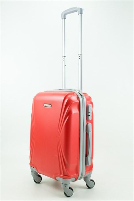 Чемодан маленький ABS KK красный - фото 31435