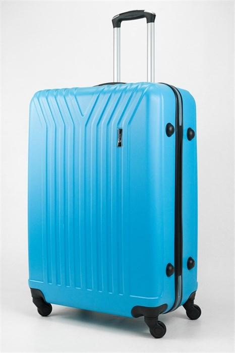 Чемодан большой ABS TT (У-образный) голубой - фото 31999