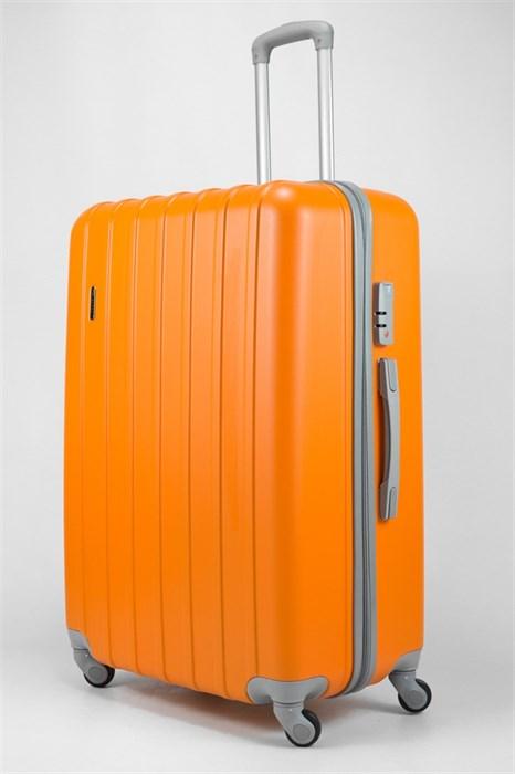 Чемодан большой ABS Deybaul оранжевый - фото 32437