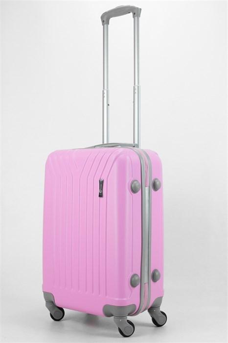 Чемодан маленький ABS TT (У-образный) розовый (СФ) - фото 32487