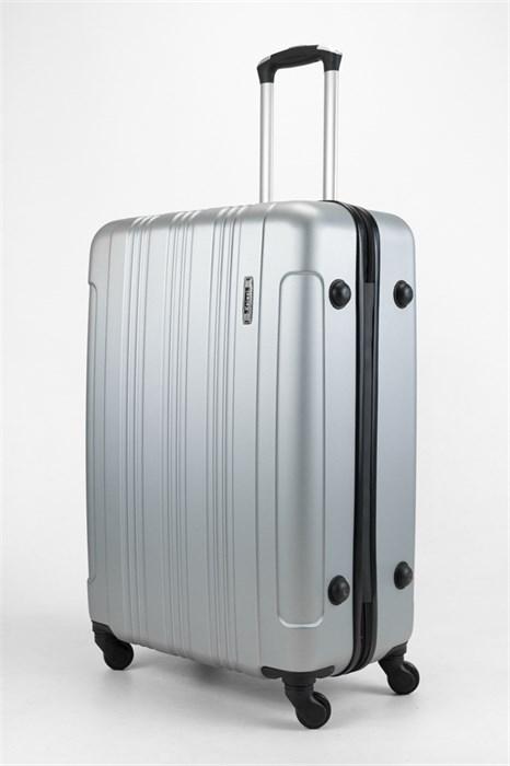Чемодан большой ABS Kaivel серебро - фото 32646