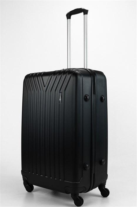 Чемодан большой ABS TT (У-образный) черный - фото 32750