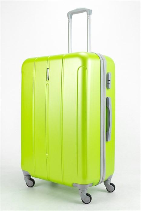 Чемодан большой ABS KK зеленый - фото 32906
