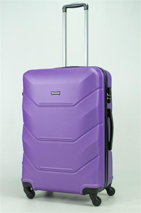 Чемодан большой ABS Freedom фиолетовый (Ч) - фото 33351