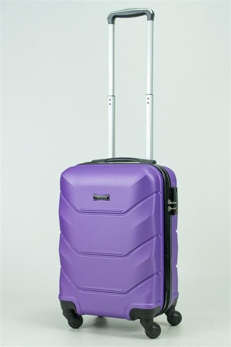 Чемодан маленький ABS Freedom фиолетовый (Ч) - фото 33391