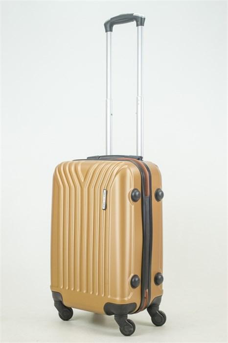 Чемодан маленький ABS KK (У-образный) золотой (Ч) - фото 33713