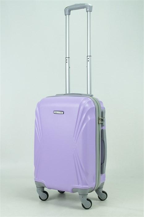 Чемодан маленький ABS KK волна фиолетовый (С) - фото 34363