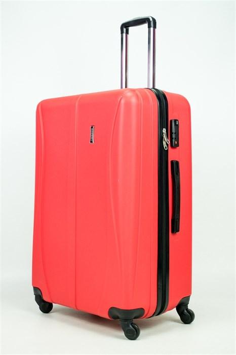 Чемодан большой ABS Freedom (трезубец) красный (Ч) - фото 34560