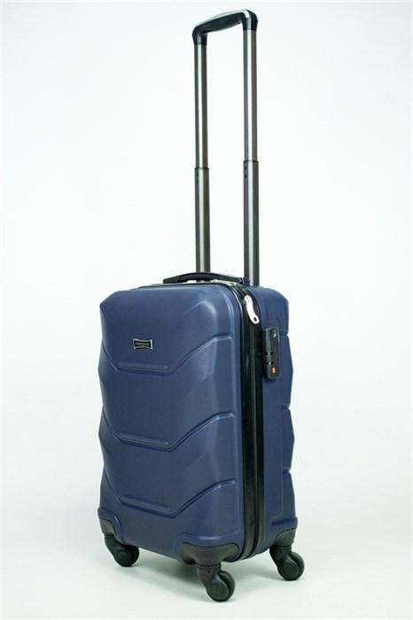 Чемодан маленький ABS Freedom темно-синий (Ч) - фото 34714