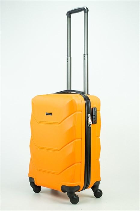 Чемодан маленький ABS Freedom оранжевый (Ч) - фото 35299