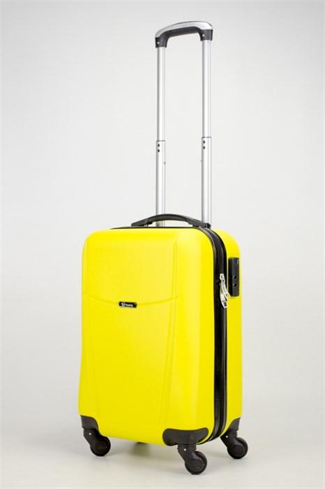 Чемодан маленький ABS TT (буква Н) желтый - фото 36273