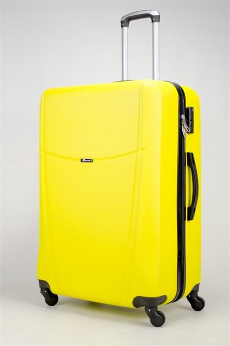 Чемодан большой ABS TT (буква Н)  желтый (Ч) - фото 36302