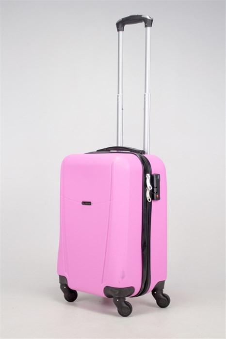 Чемодан маленький ABS TT (буква Н) розовый - фото 36334
