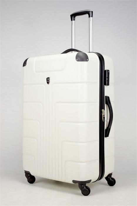 Чемодан большой ABS Smart Travel белый - фото 36346