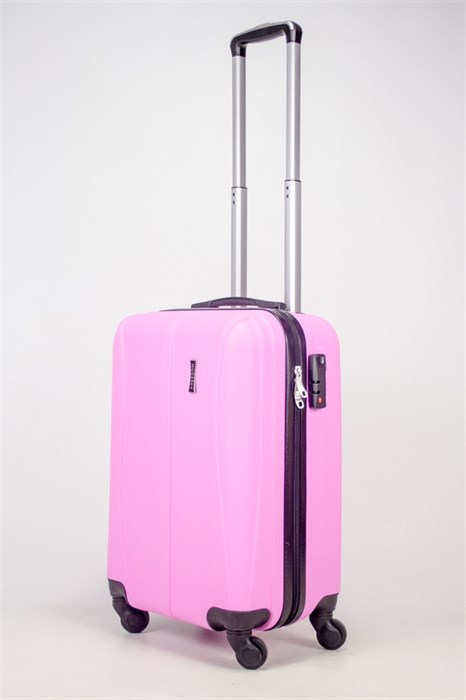 Чемодан маленький ABS Freedom (трезубец) розовый - фото 36735