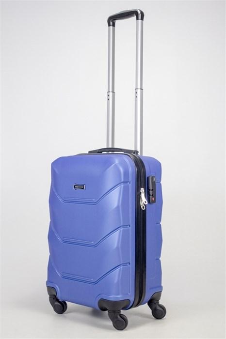 Чемодан маленький ABS Freedom синий (Ч) - фото 36874