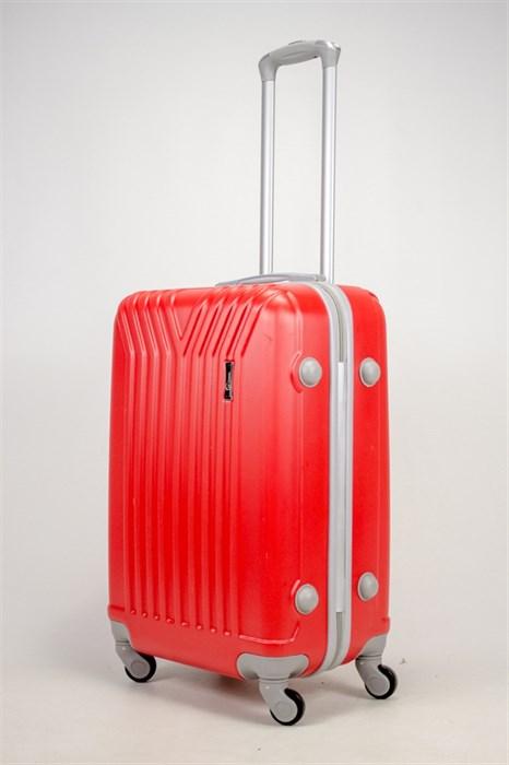Чемодан средний ABS TT (У-образный) красный - фото 36983