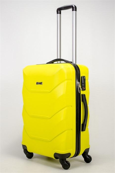 Чемодан средний ABS Freedom желтый (Ч) - фото 36989